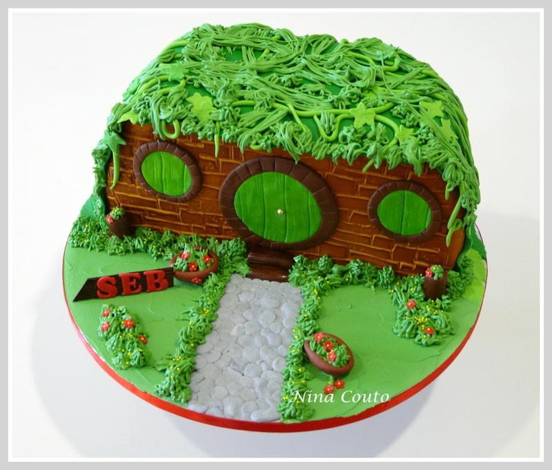 gateau anniversaire maison hobbit nimes 5
