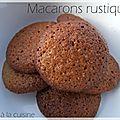 Macarons rustiques