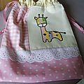 sac girafe