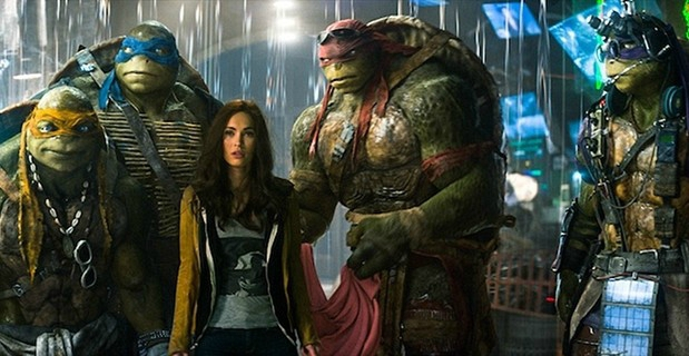 Megan Fox et les Tortues Ninja