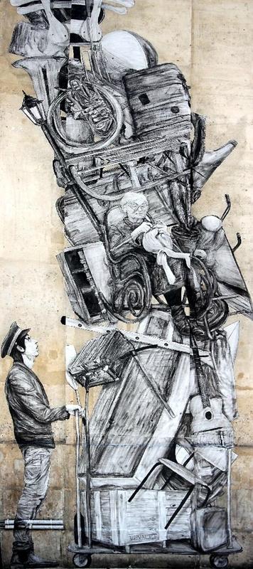 6-Collage Levalet, Gare du Nord