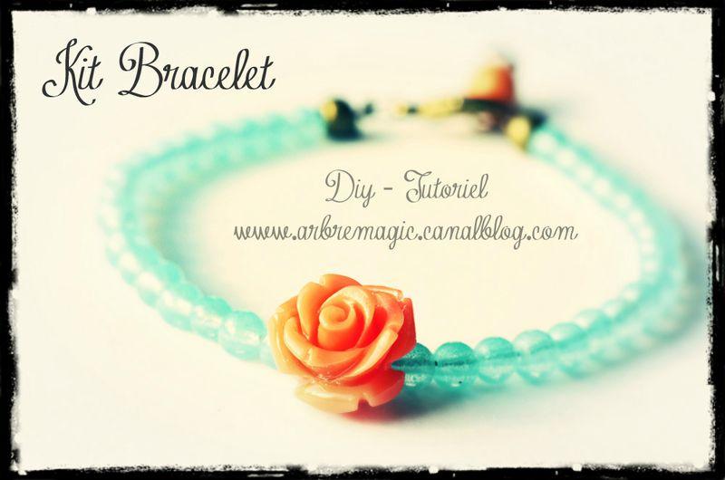 Kit bracelet diy faire soi m me l 39 arbre magique - Bracelet a faire soi meme ...