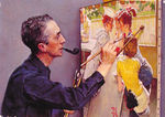 Portrait_of_Norman_Rockwell_Painting_the_Soda_Jerk