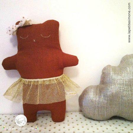 ginger_danseuse_etoile_doudou_ours_decoratif_la_petite_simone