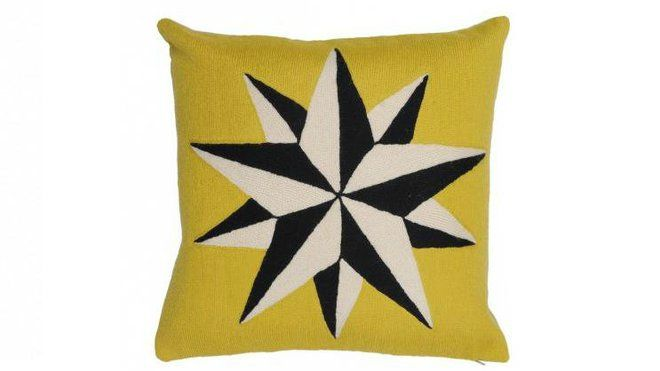 Coussin Estelle Yellow
