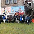 Japanese visit to the borinage