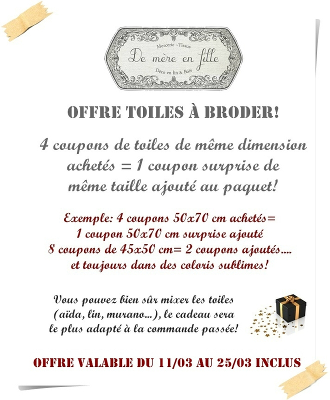 offre toiles mars