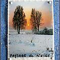 260 Paysage de neige pour Chantal