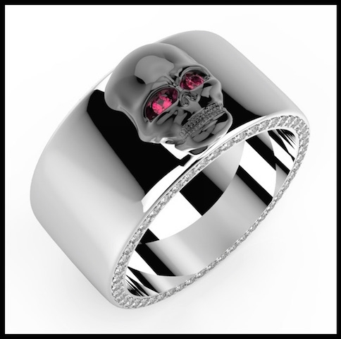divinescence collection skull bague 4