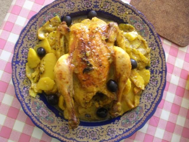 Poulet Au Four Et Aux Pommes De Terre La Cuisine De Oum Adam