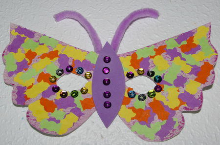 Masque papillon cr er la folie - Masque papillon carnaval ...
