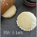Pate a tarte aux petits suisses
