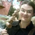 Hummm fraises et bananes recouverte de chocolat !