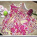 Robe d 'été rose