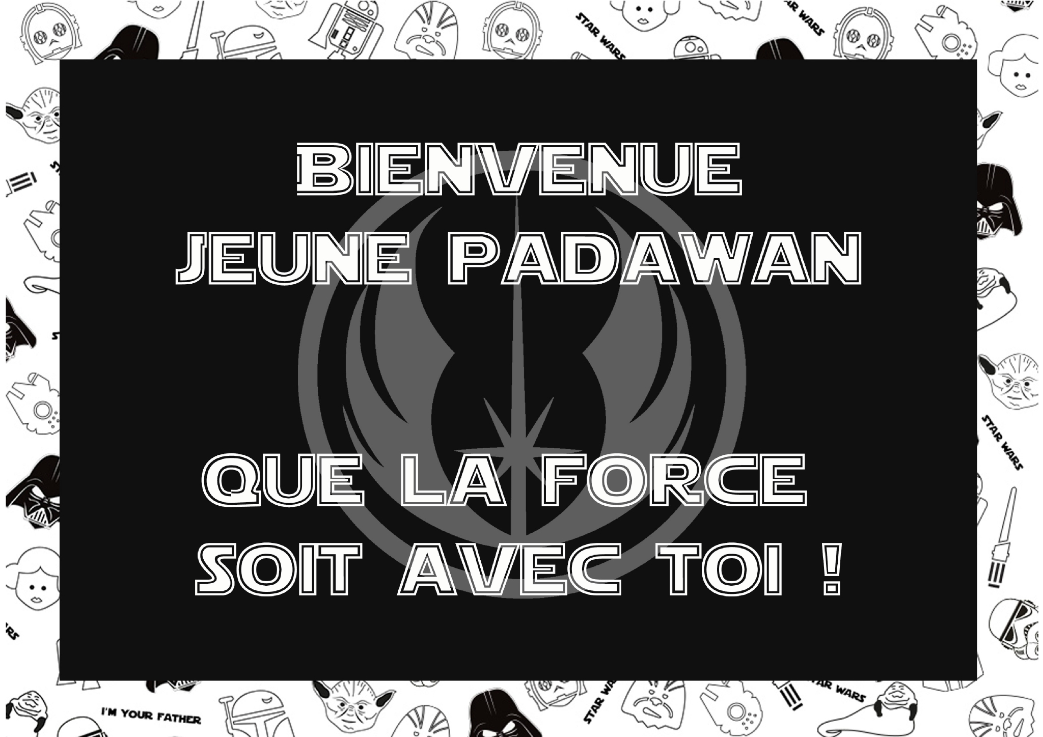 un anniversaire sur le th me de star wars le monde d 39 orev. Black Bedroom Furniture Sets. Home Design Ideas