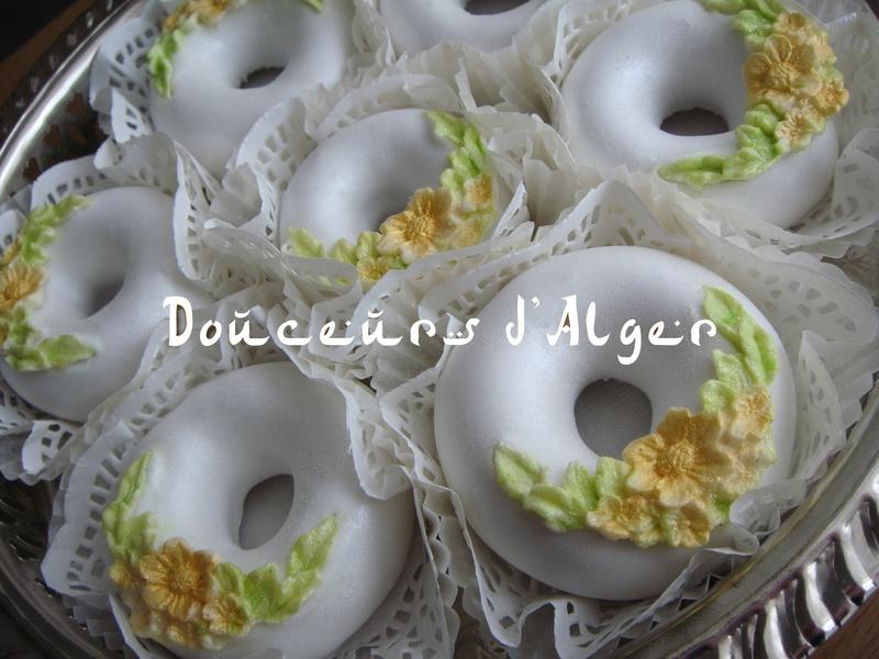 anneaux glacés aux amandes 2