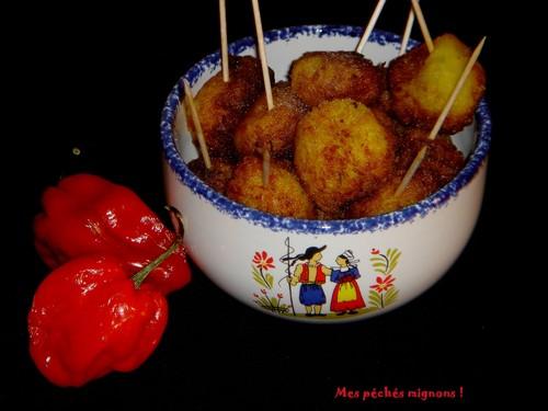Beignets de pommes de terre