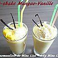 Milk-Shake mangue-vanille