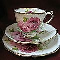Tasse-Royal-albert--American-beauty-