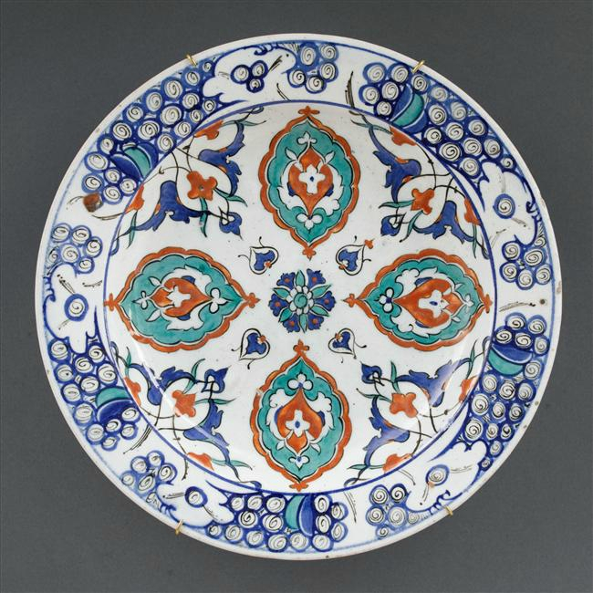 An Underglaze Blue And Copper Red Decorated Celadon Glazed