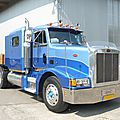 Peterbilt 377 semi-trailer truck 1987