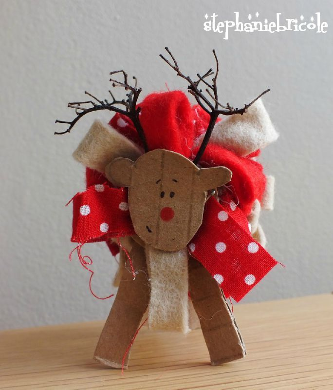 Tuto id es de d co pour la table de no l faire soi m me - Bricolage decoration de noel ...