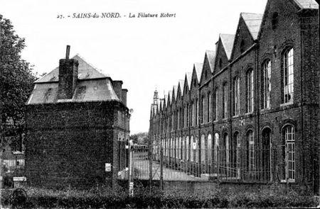 SAINS DU NORD - La Filature Robert