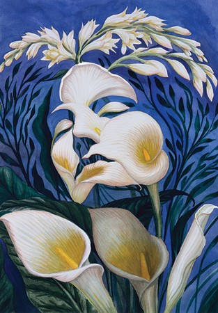 ecstasy_of_the_lillies_Octavio_Ocampo