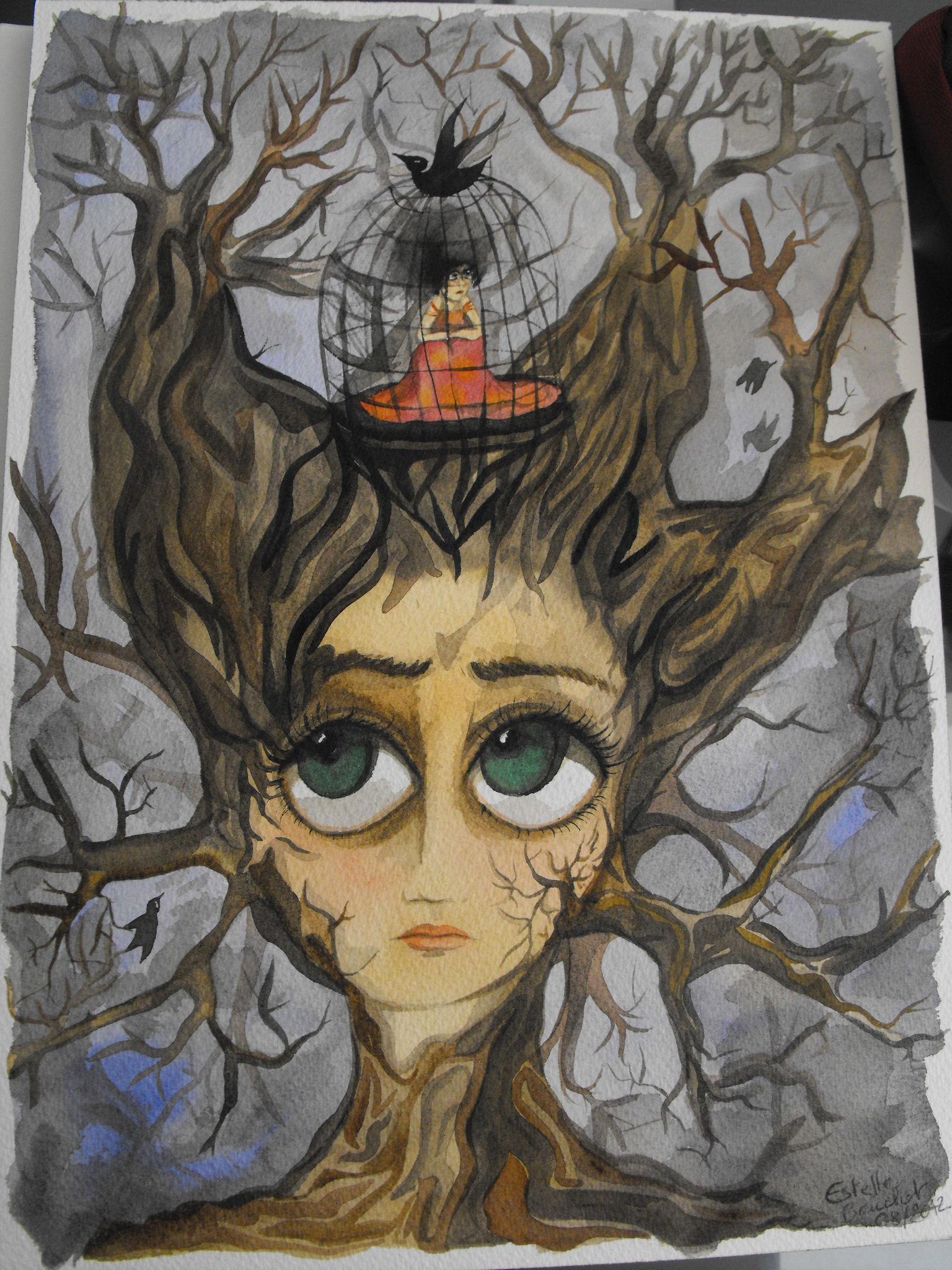 l'arbre torturé