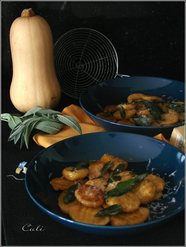 Gnocchi de Butternut au Beurre de Sauge & Piave Vecchio 004