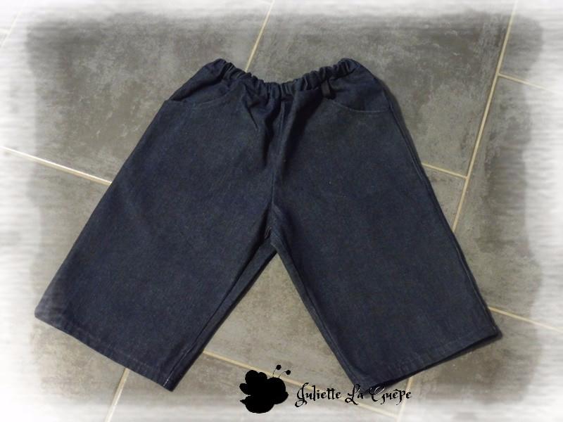 Printanier jean et noir
