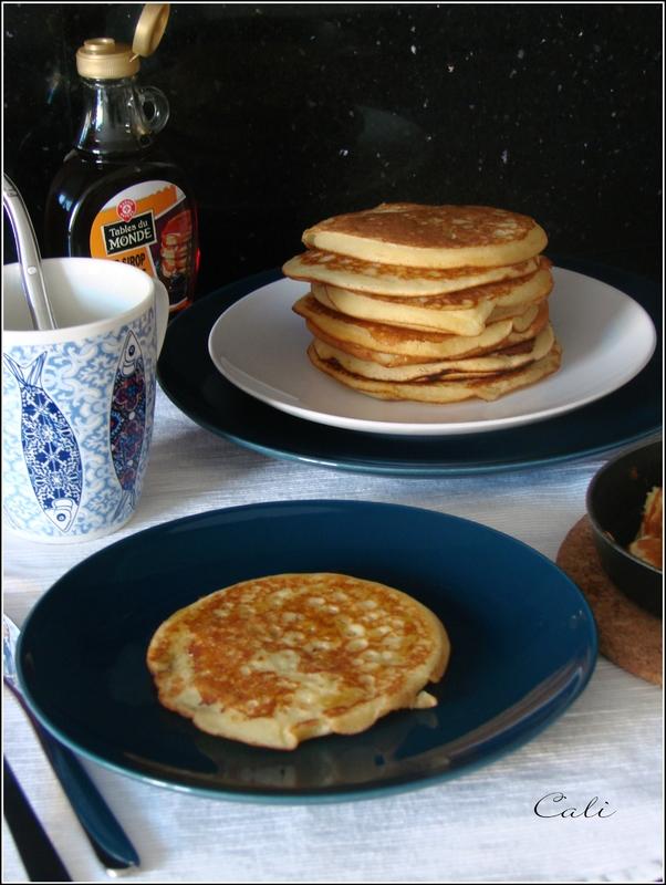 Pancakes au Sirop d'Erable 002