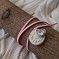 medaille et breloque medaille à nouer (dispo)