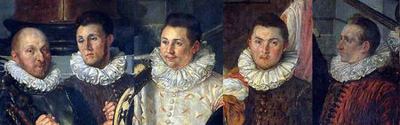 Fraises de Hollande en 1588
