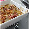 Gratinee d'endives a la pomme & au parmesan - gratin de endibias a la manzana & al queso parmesano
