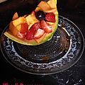 Salade de fruits à la vanille