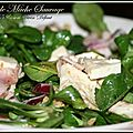 Salade de mche sauvage