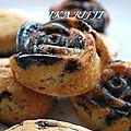 Muffins aux pepites de chocolat sans oeufs