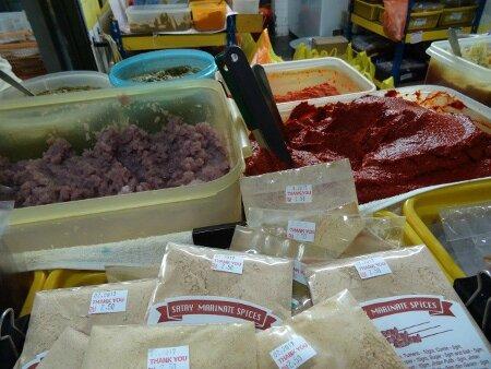épices marché