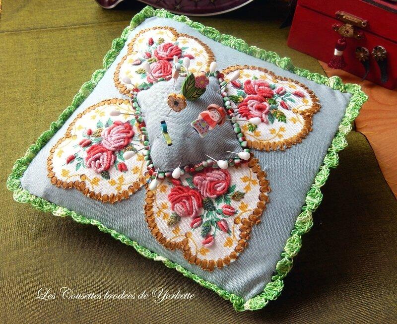 Pique Epingles aux Roses FACILE CECILE (5)