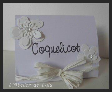 marque tables les fleurs