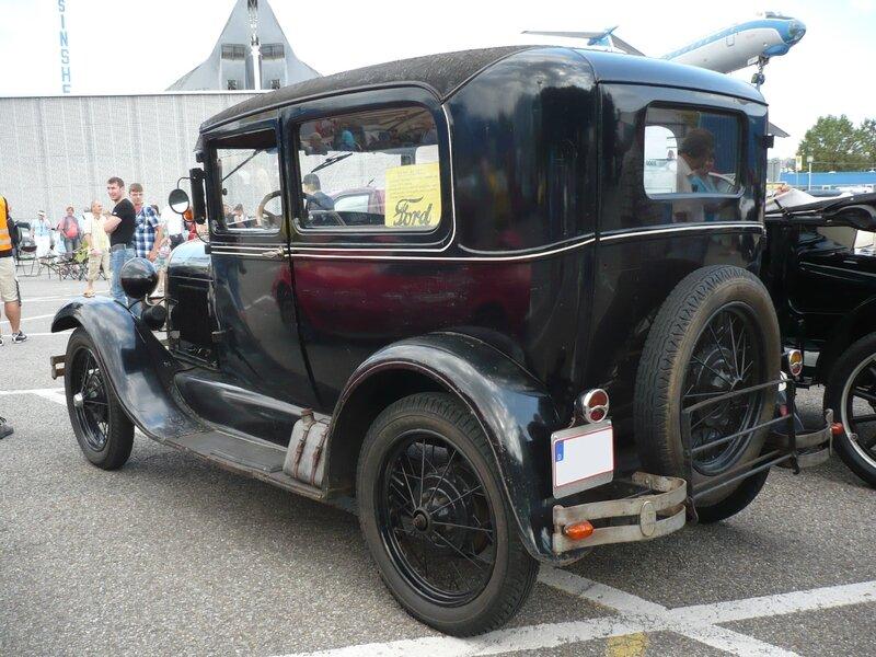 FORD Model A 2door Sedan 1928 Sinsheim (2)