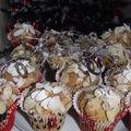 Muffins aux spéculos parfumés au citron