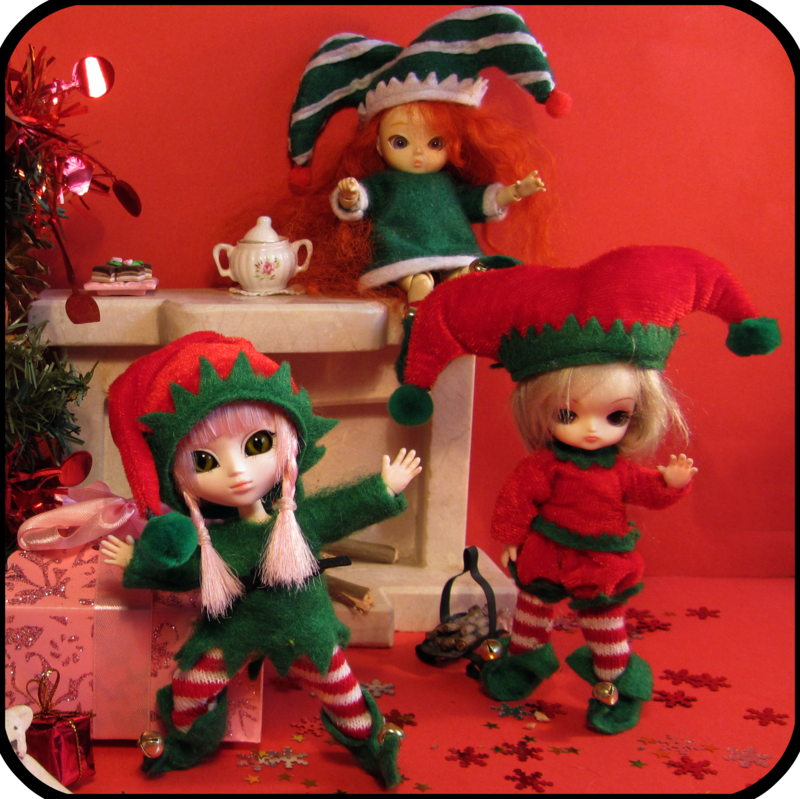 Mes mini puces – Little Pullip, Little Dal & Aï BJD