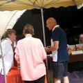 5 - A l'occasion de la fête du tilleul, le 13 juillet 2014 - et sous l'arcade, mon ami André Bucher