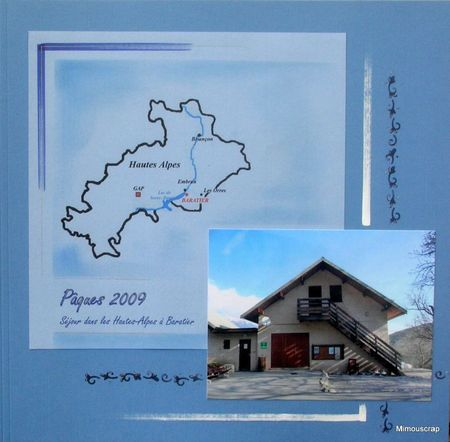 Baratiers - Pâques 2009-01