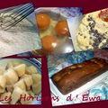 Cake aux poires et pépites de chocolat (allégé)