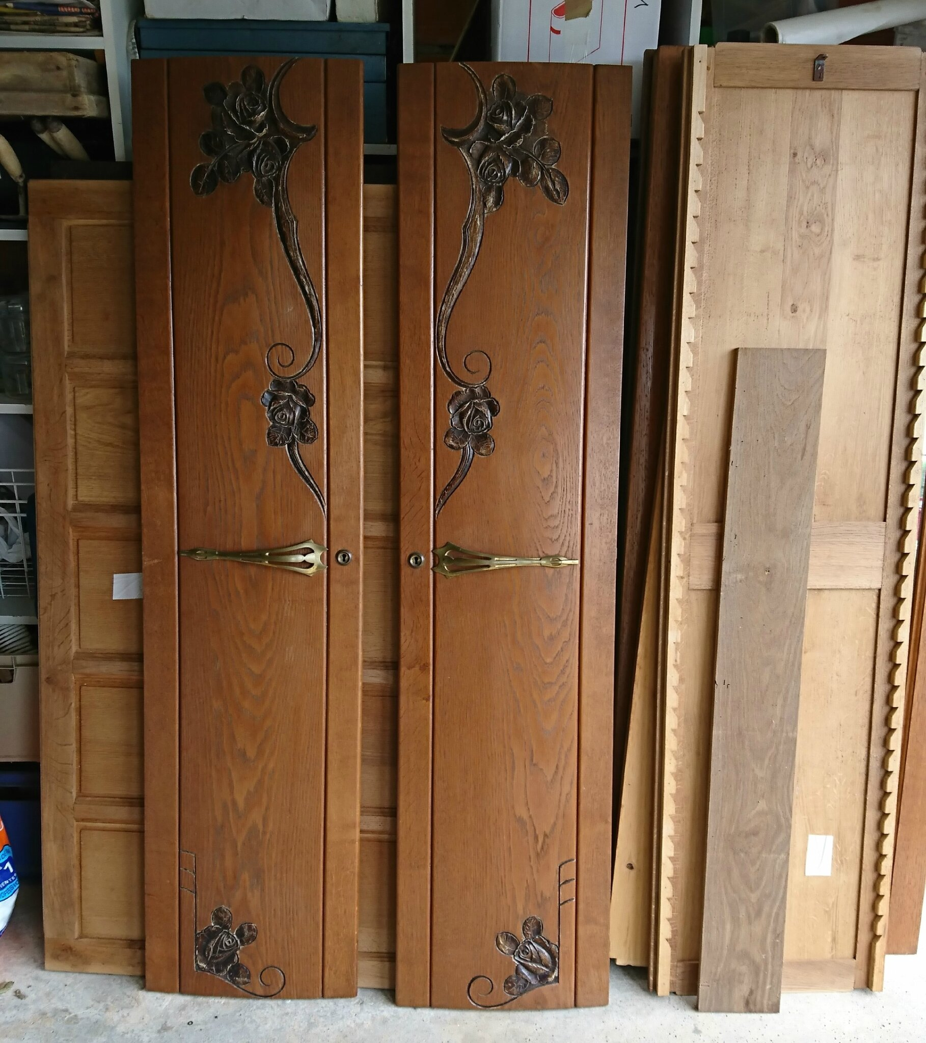 transformer une armoire ancienne top relooker une armoire ancienne with transformer une armoire. Black Bedroom Furniture Sets. Home Design Ideas