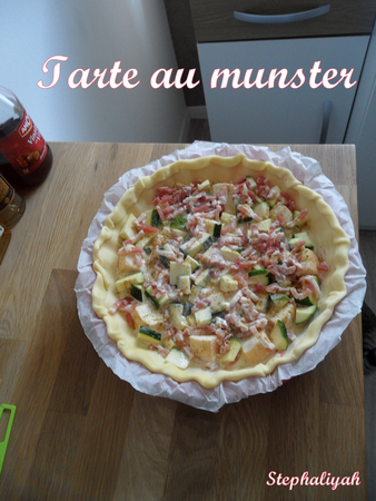 Tarte au munster -- 3 avril 2013