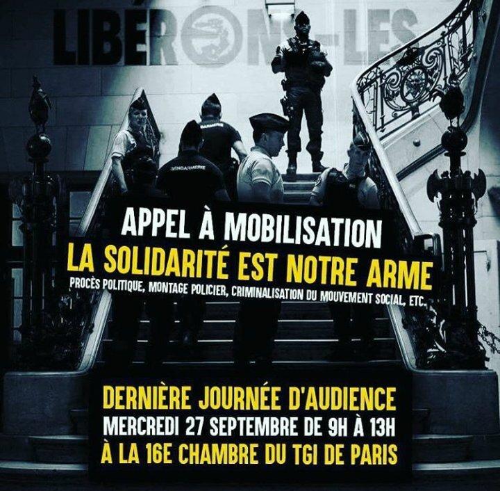 Appel Mobilisation